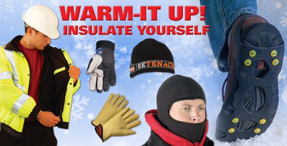 Winter Warm Up - Find Fleece Lined and other winter products here